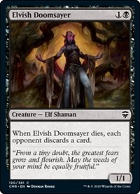 Elvish Doomsayer, Magic: The Gathering, Commander Legends