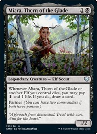 Miara, Thorn of the Glade, Magic: The Gathering, Commander Legends