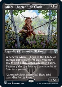 Miara, Thorn of the Glade (Foil Etched), Magic: The Gathering, Commander Legends