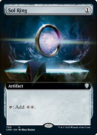 Sol Ring (Extended Art), Magic: The Gathering, Commander Legends