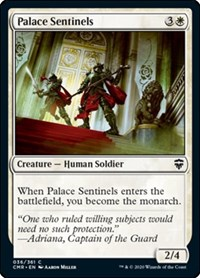 Palace Sentinels, Magic: The Gathering, Commander Legends