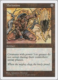 Meekstone, Magic: The Gathering, Fifth Edition