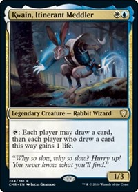 Kwain, Itinerant Meddler, Magic: The Gathering, Commander Legends