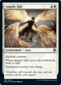 Angelic Gift, Magic: The Gathering, Commander Legends