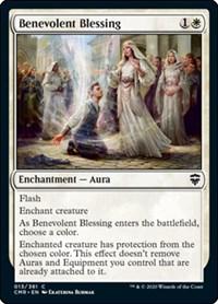 Benevolent Blessing, Magic: The Gathering, Commander Legends