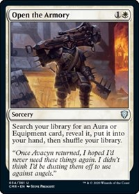 Open the Armory, Magic: The Gathering, Commander Legends