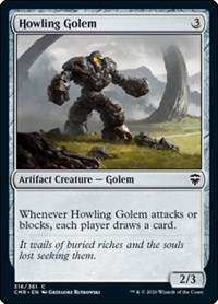 Howling Golem, Magic: The Gathering, Commander Legends