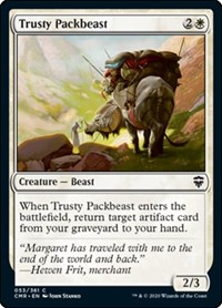 Trusty Packbeast, Magic: The Gathering, Commander Legends