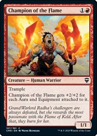 Champion of the Flame, Magic: The Gathering, Commander Legends