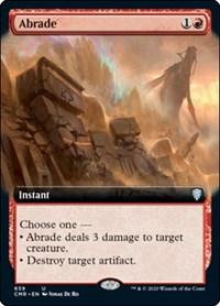 Abrade (Extended Art), Magic: The Gathering, Commander Legends