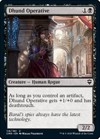 Dhund Operative, Magic: The Gathering, Commander Legends