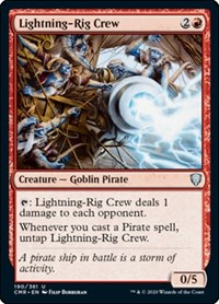 Lightning-Rig Crew, Magic: The Gathering, Commander Legends