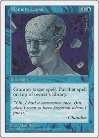 Memory Lapse, Magic: The Gathering, Fifth Edition