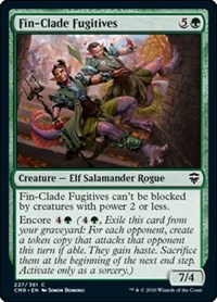 Fin-Clade Fugitives, Magic: The Gathering, Commander Legends