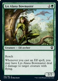 Lys Alana Bowmaster, Magic: The Gathering, Commander Legends