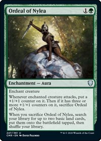 Ordeal of Nylea, Magic: The Gathering, Commander Legends