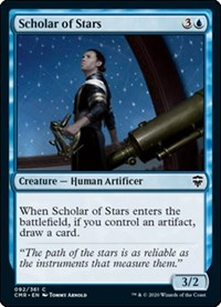 Scholar of Stars, Magic: The Gathering, Commander Legends