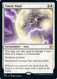 Timely Ward, Magic: The Gathering, Commander Legends
