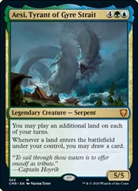 Aesi, Tyrant of Gyre Strait, Magic: The Gathering, Commander Legends