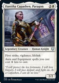Danitha Capashen, Paragon, Magic: The Gathering, Commander Legends