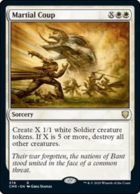 Martial Coup, Magic: The Gathering, Commander Legends