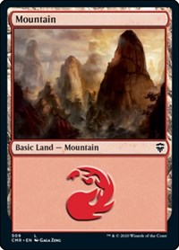 Mountain (509), Magic: The Gathering, Commander Legends