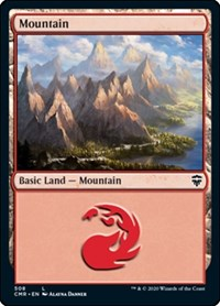 Mountain (508), Magic: The Gathering, Commander Legends