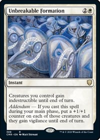 Unbreakable Formation, Magic: The Gathering, Commander Legends