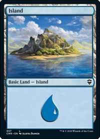 Island (507), Magic: The Gathering, Commander Legends