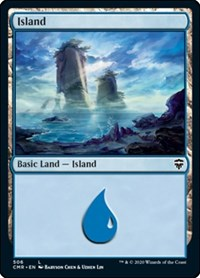 Island (506), Magic: The Gathering, Commander Legends