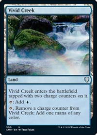 Vivid Creek, Magic: The Gathering, Commander Legends