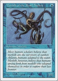 Merfolk of the Pearl Trident, Magic: The Gathering, Fifth Edition