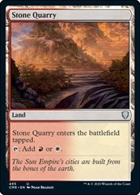 Stone Quarry, Magic: The Gathering, Commander Legends
