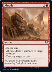 Abrade, Magic: The Gathering, Commander Legends
