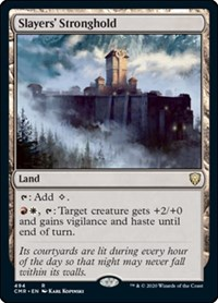 Slayers' Stronghold, Magic: The Gathering, Commander Legends
