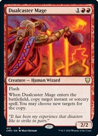 Dualcaster Mage, Magic: The Gathering, Commander Legends