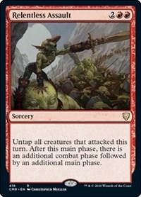 Relentless Assault, Magic: The Gathering, Commander Legends