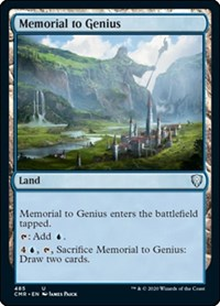 Memorial to Genius, Magic: The Gathering, Commander Legends