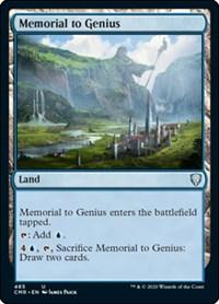 Memorial to Genius, Magic: The Gathering, Commander Legends