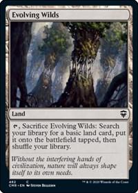 Evolving Wilds, Magic: The Gathering, Commander Legends