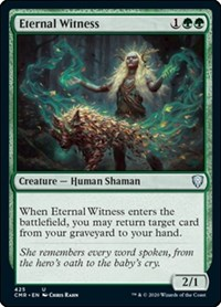 Eternal Witness, Magic: The Gathering, Commander Legends