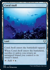 Coral Atoll, Magic: The Gathering, Commander Legends