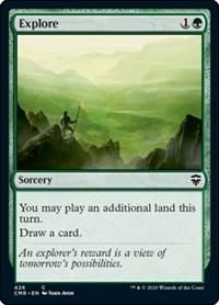Explore, Magic: The Gathering, Commander Legends