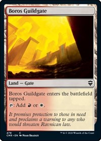 Boros Guildgate, Magic: The Gathering, Commander Legends