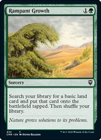 Rampant Growth, Magic: The Gathering, Commander Legends