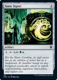 Simic Signet, Magic: The Gathering, Commander Legends
