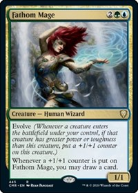 Fathom Mage, Magic: The Gathering, Commander Legends