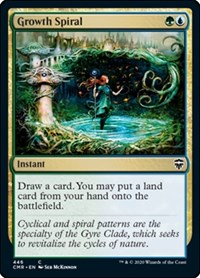 Growth Spiral, Magic: The Gathering, Commander Legends
