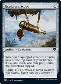 Explorer's Scope, Magic: The Gathering, Commander Legends