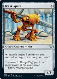 Brass Squire, Magic: The Gathering, Commander Legends